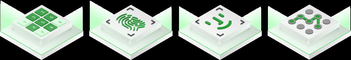 تغطية متكاملة لجميع أنواع قفل الشاشة