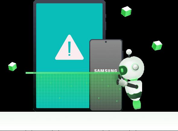 تغطية جميع أجهزة سامسونج معطلة التي تسببها أي مشكلة في النظام