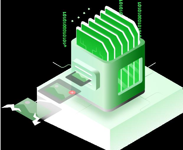 استعادة الملفات المحذوفة أو المنسقة من بطاقة SD