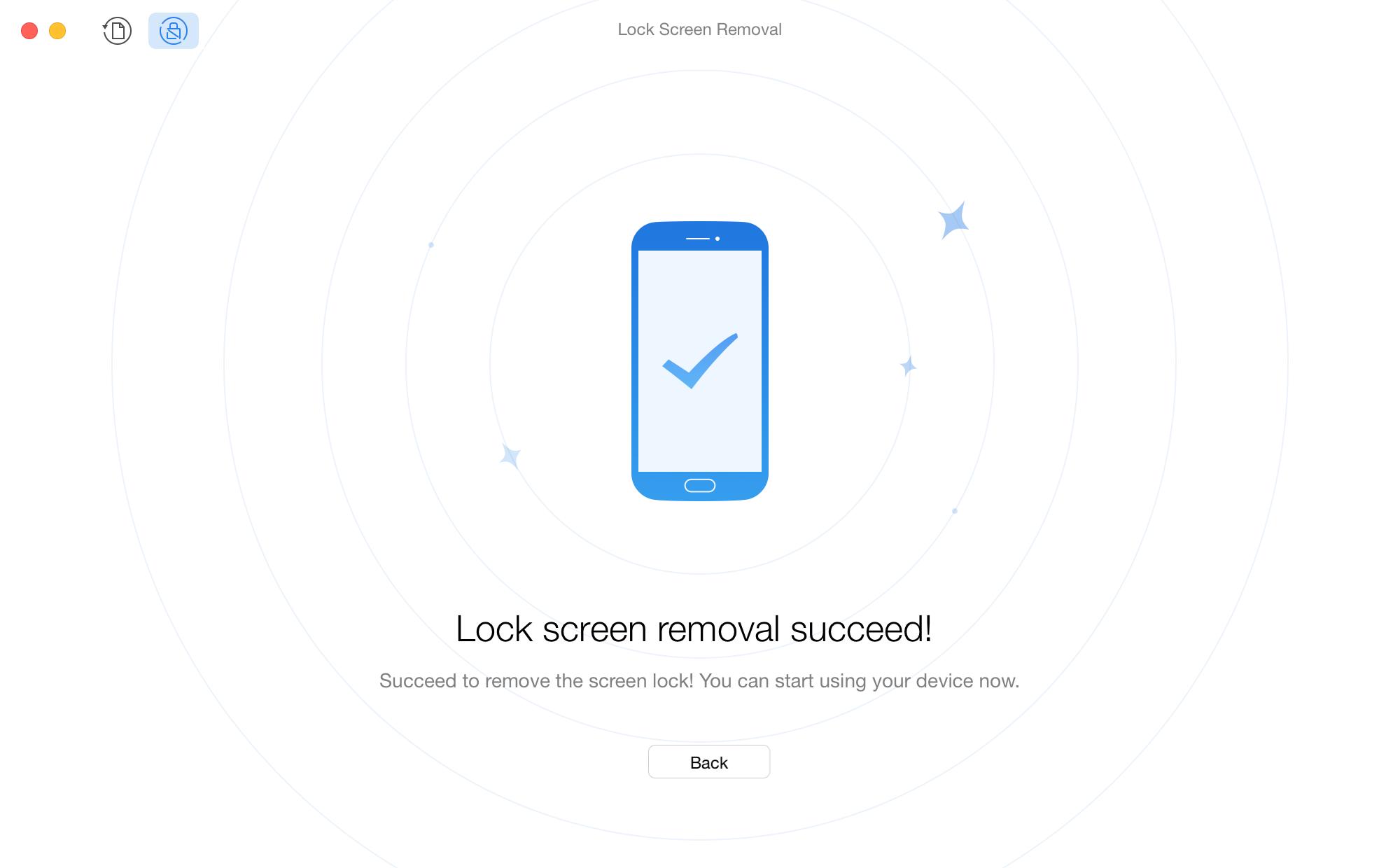 تمت إزالة قفل الشاشة لهاتف سامسونج