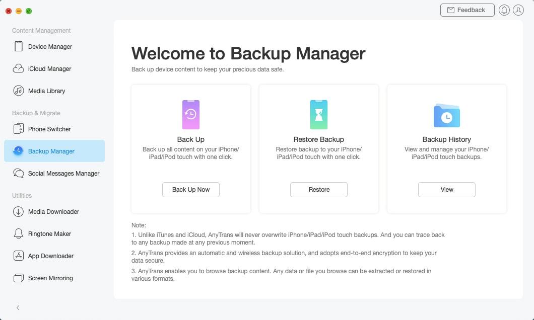 Restore Backup - 3