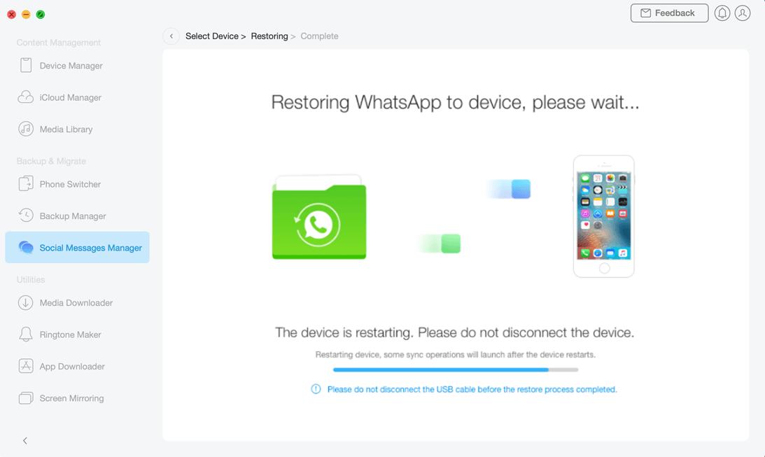 Restore Social Messages - 6