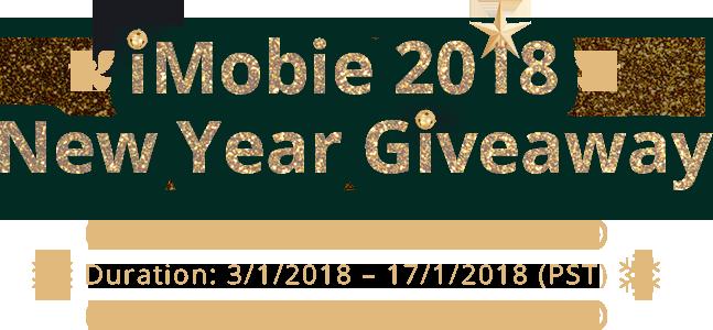 هدايا رأس السنة 2018 من شركة iMobie