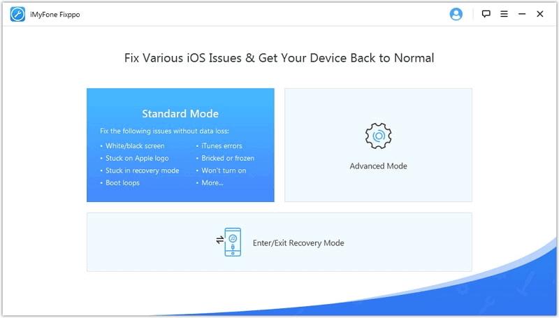 إصلاح مشاكل الايفون مع iMyFone Fixppo
