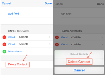 How to Delete a Contact on iPhone/iPad