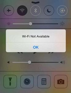 مشكلات تحديث iOS - مشكلات Wi-Fi