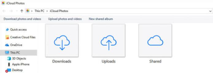 انقل صور iPhone إلى جهاز الكمبيوتر باستخدام صور iCloud