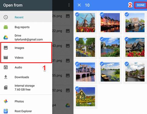 استرجع الصور المحذوفة على Android باستخدام تطبيق صور Google