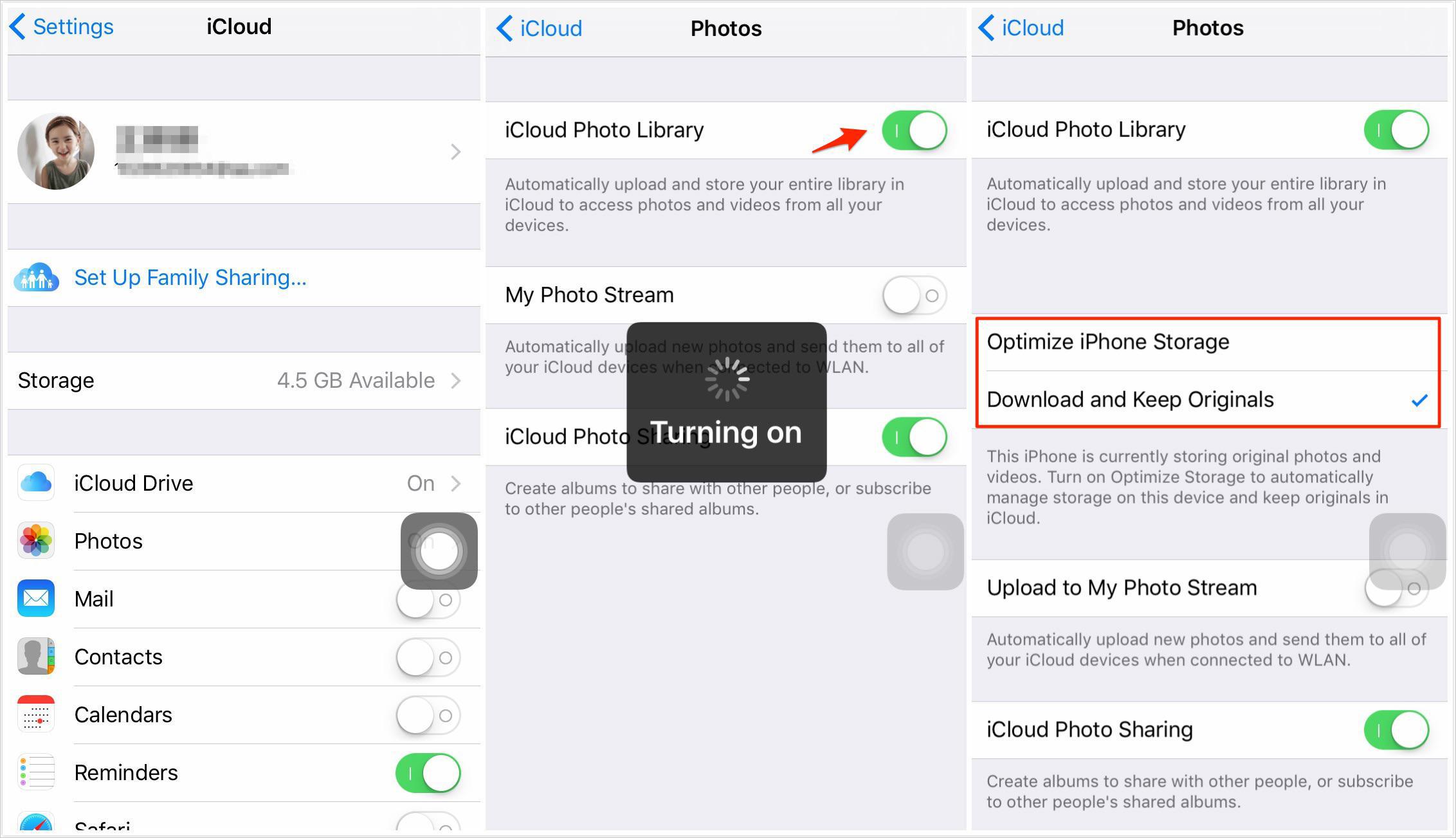 كيفية مزامنة الصور بين اثنين من أجهزة الأيفون باستخدام