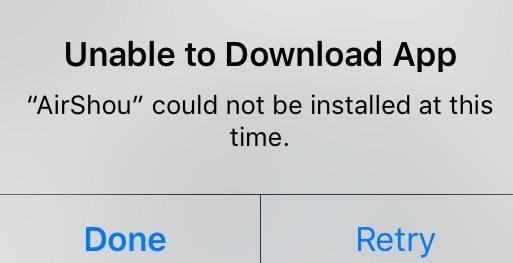 مشاكل iOS 11 – غير قادر على تحميل التطبيقات