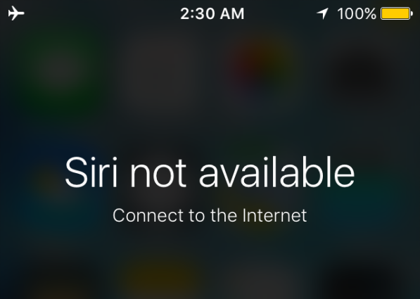 مشاكل iOS 11 – Siri غير متوفر