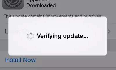 مشاكل iOS 11 - مشكلة التحقق من التحديث