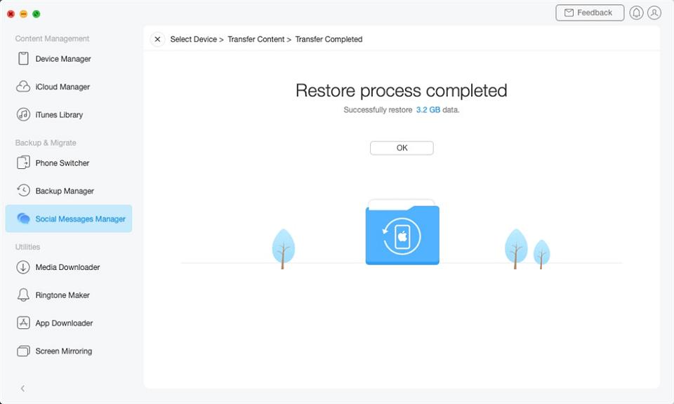 استعادة النسخة الاحتياطية للواتس اب من Google Drive إلى iPhone