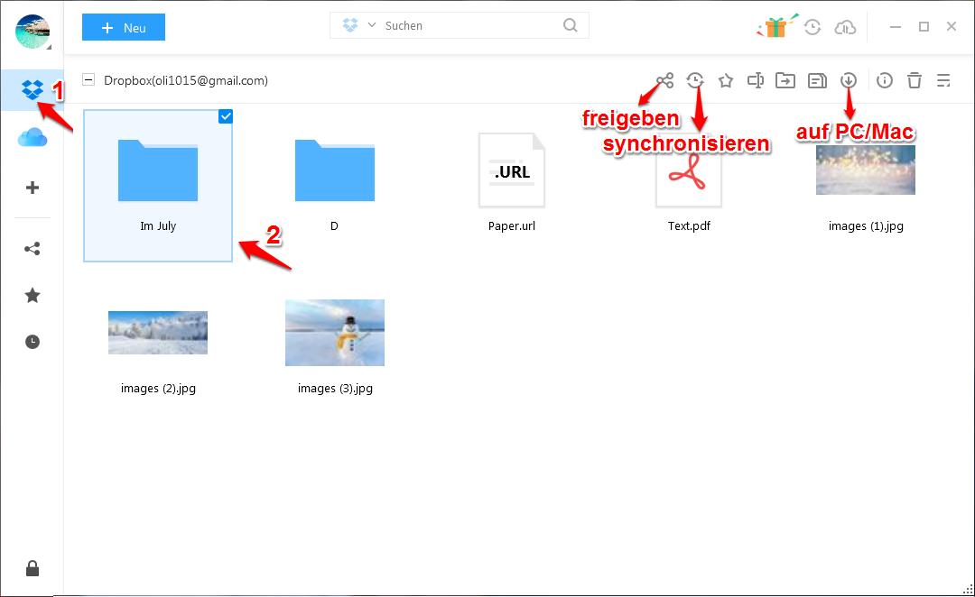 Dropbox synchronisiert nicht und was tun