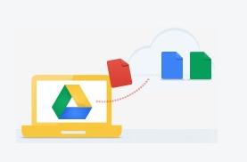 Google Drive Dateien hochladen