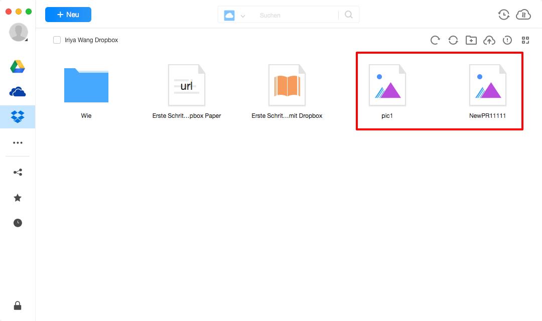 Google Drive auf Dropbox synchronisieren