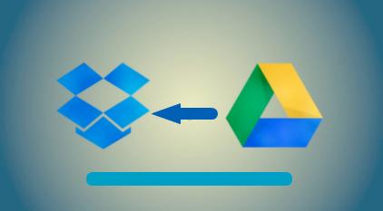 Google Drive auf Dropbox kopieren
