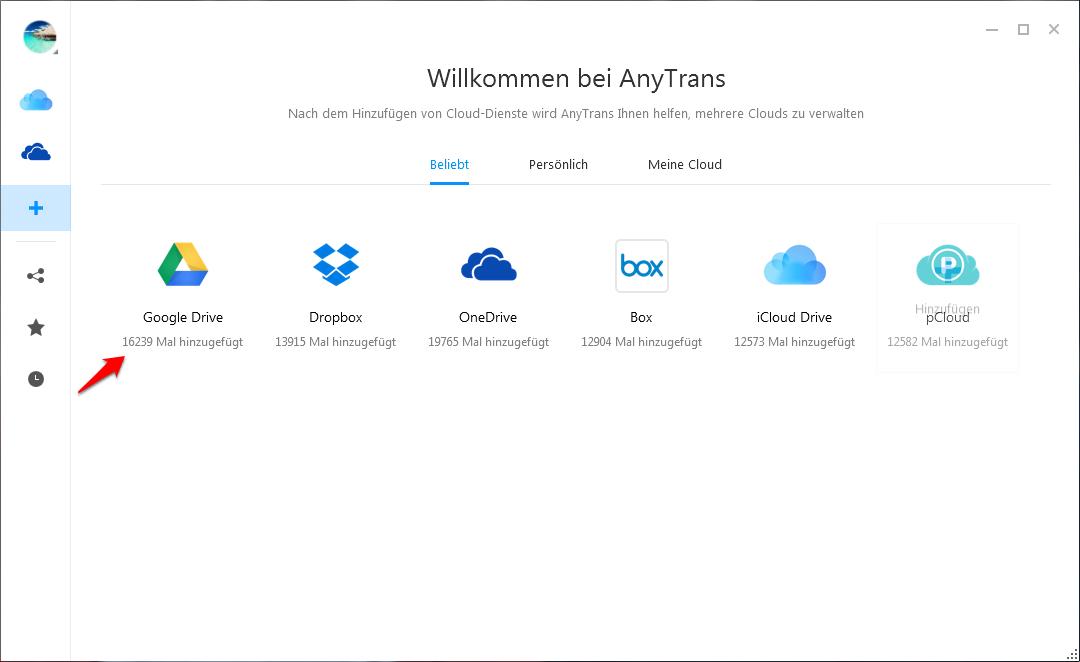 Google Drive Ordner verschieben – Schritt 1