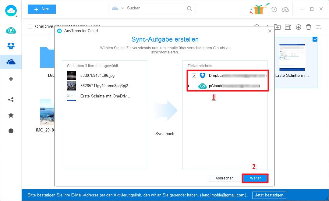 Wie kann man iCloud Backup auf PC laden - Schritt 4