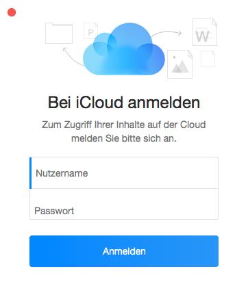 iCloud mit Google synchronisieren - Schritt 1