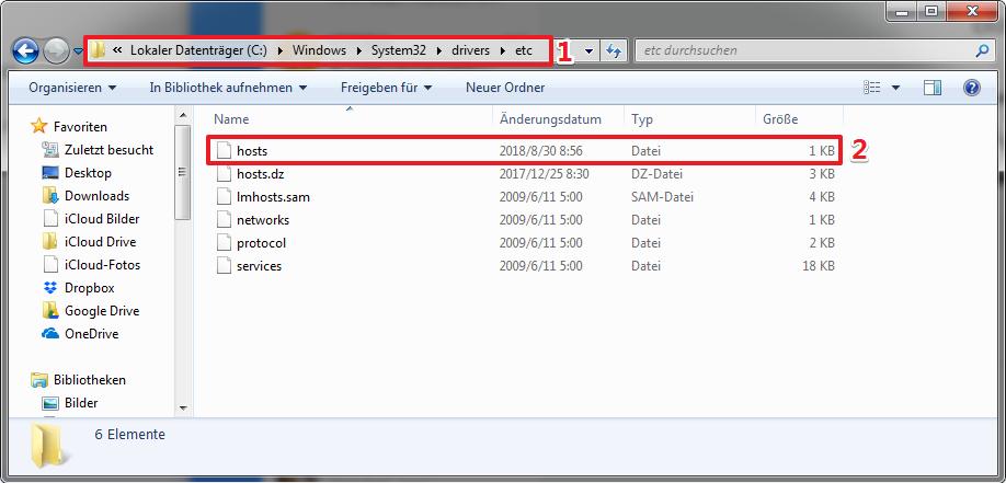 DropBox startet nicht Windows 10