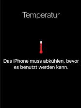 iOS 12 Akku Probleme: Akku Hitze