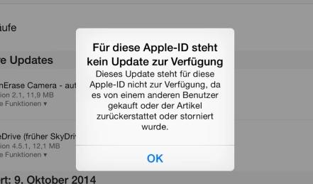 App Store funktioniert nicht