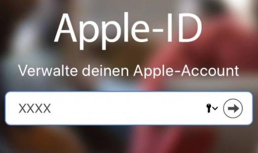 Wie kann man Apple-ID auf iPhone ändern