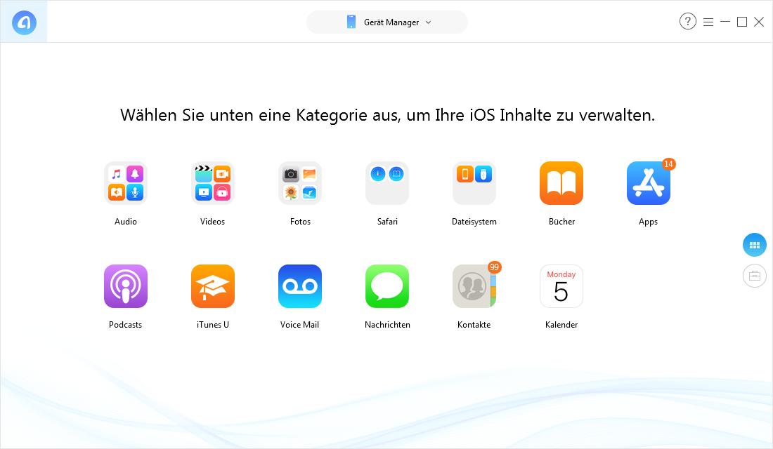 iPhone Daten sichern vor Apple-ID auf iPhone ändern