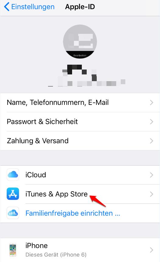 Apple ID wurde deaktiviert und was tun – Schritt 1