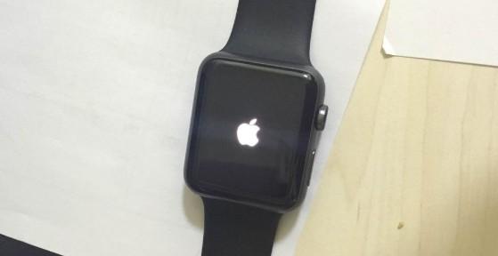 Apple Watch bleibt beim Logo hängen
