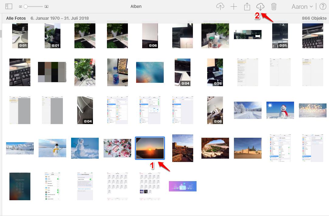 Fotos vom iPhone auf PC übertragen funktioniert nicht und was tun