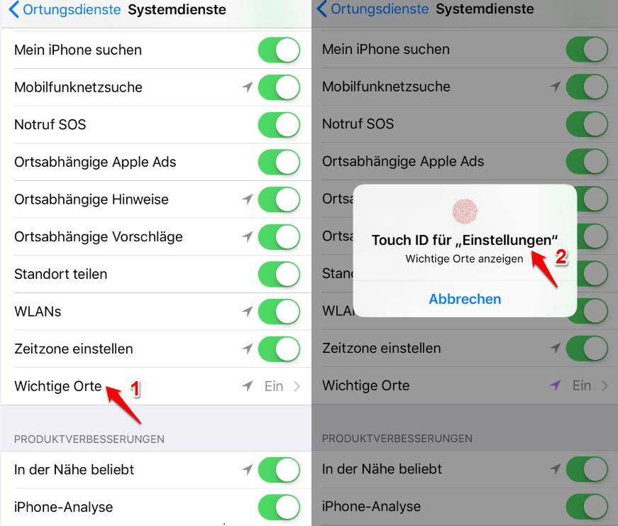 GPS Daten iPhone auslesen - Schritt 3