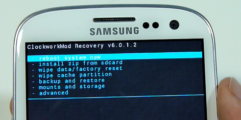 Samsung Recovery Modus