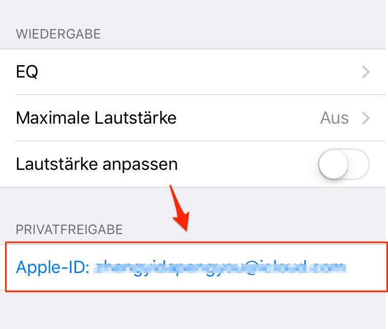 iCloud Mediathek aktivieren geht nicht - Tipp 2