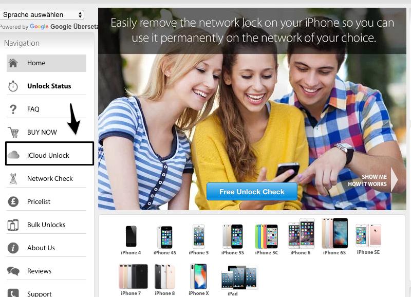 iCloud Sperre umgehen iOS 12/11 - iPhone Unlock benutzen