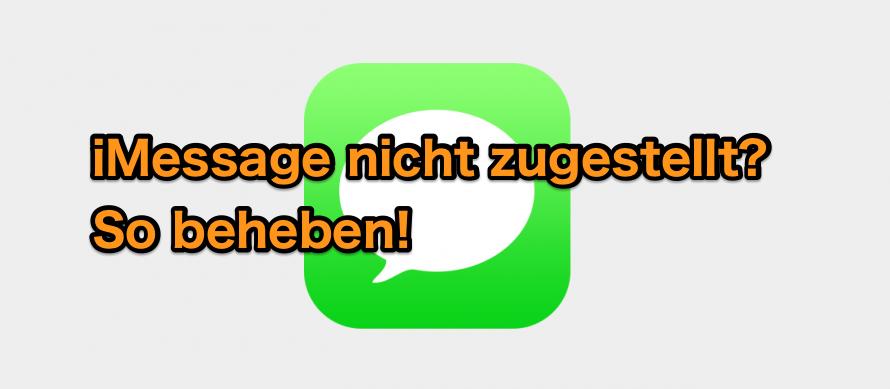 5 Tipps: iPhone SMS & iMessage nicht zugestellt beheben
