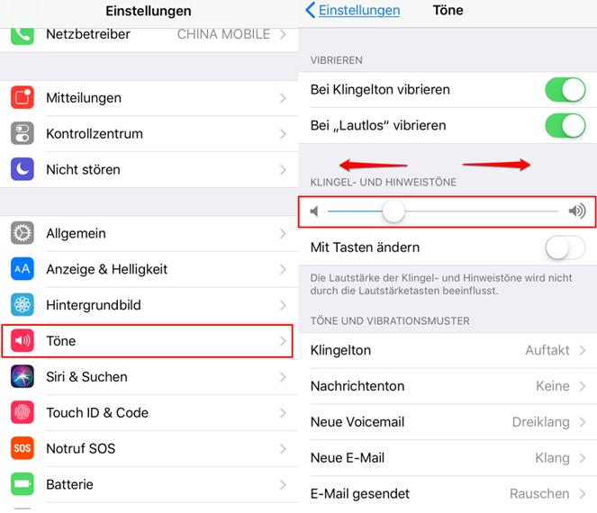 iOS 11 Lautstärke vom Wecker – in Einstellungen-App anpassen