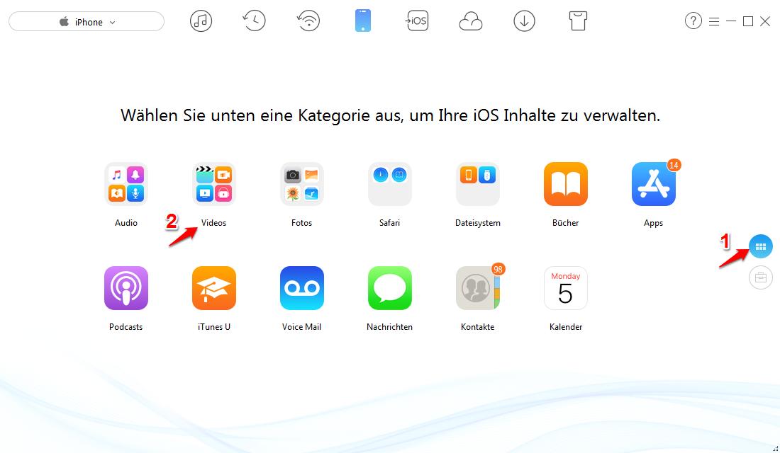 iOS 12 Bildschirmaufnahme funktioniert nicht – Daten mit AnyTrans übertragen