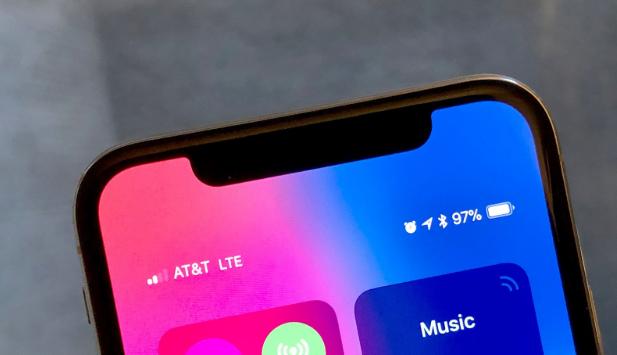 iOS 12 Bluetooth Zeichen weg