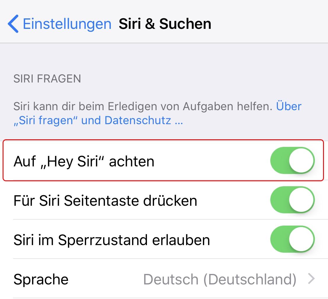 Apple iOS 12 CarPlay funktioniert nicht – Siri einschalten