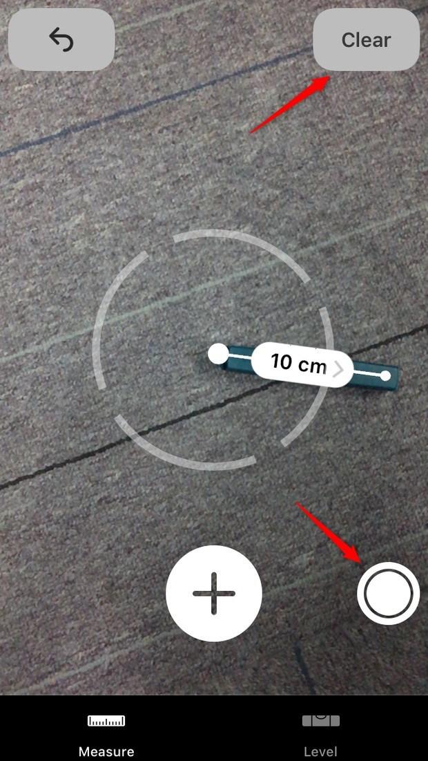 iOS 12 Maßband-App nutzen