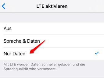 iOS 11 Rufnummernübertragung Problem – nur Daten umstellen