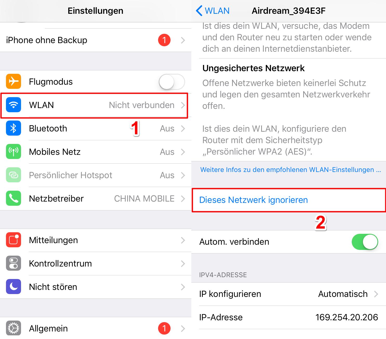 iPad automatische Updates funktioniert nicht - Tipp 1