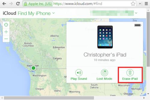 iPhone Code umgehen - über iCloud