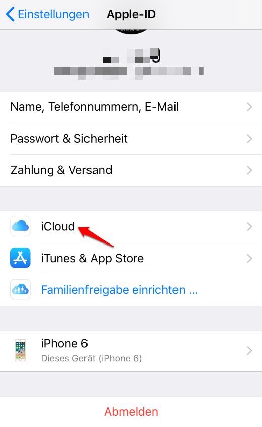 iPhone Fotos plötzlich unscharf und was tun – Schritt1