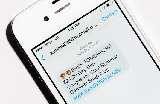iPhone iMessage Spam blockieren