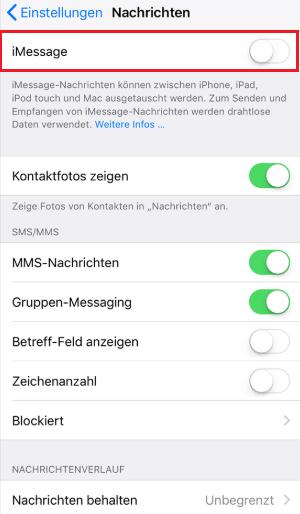 Wie kann man iMessage Spam vermeiden
