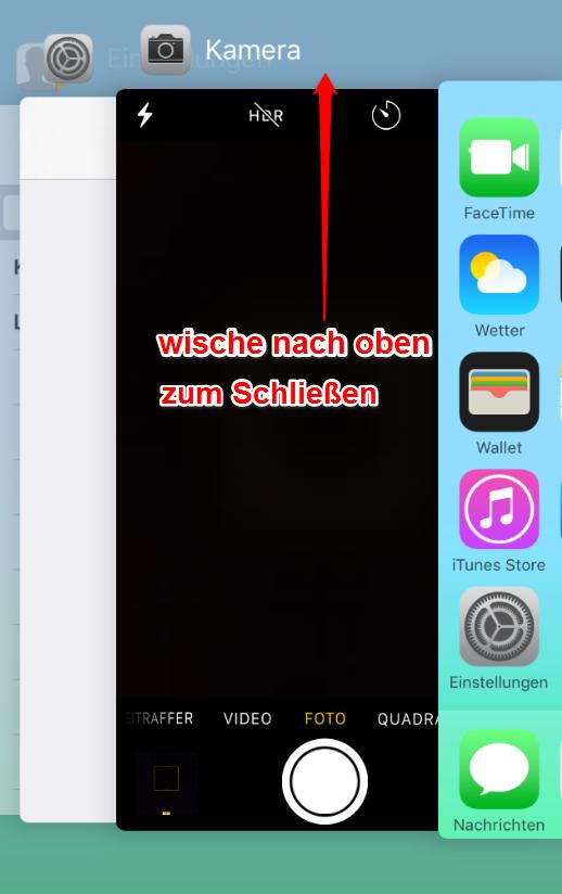 iPhone 6 Kamera schwarz