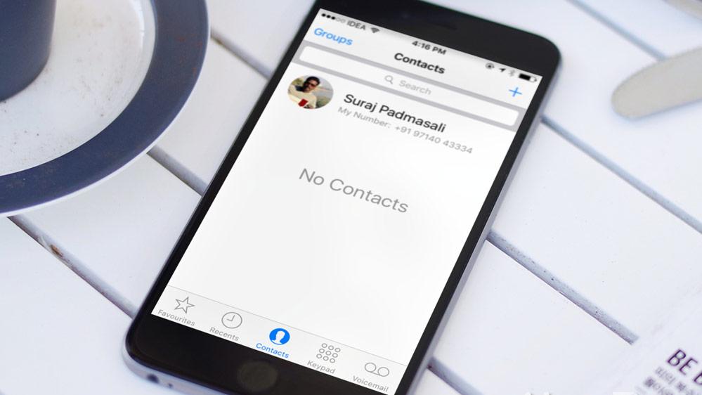 iPhone Kontakte nicht sichtbar - Kontakte-Sync erneut aktivieren